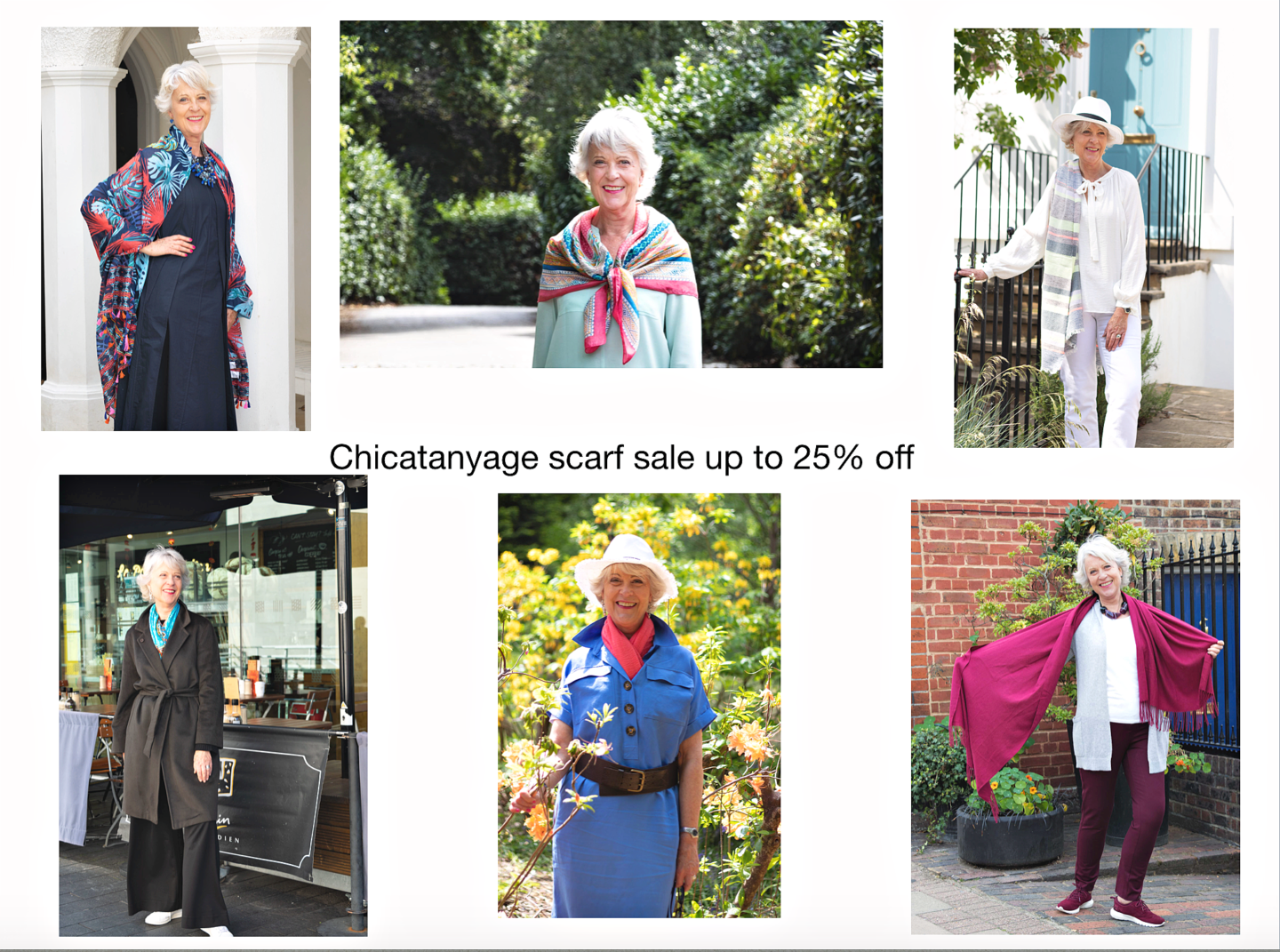 Chicatanyage scarf sale