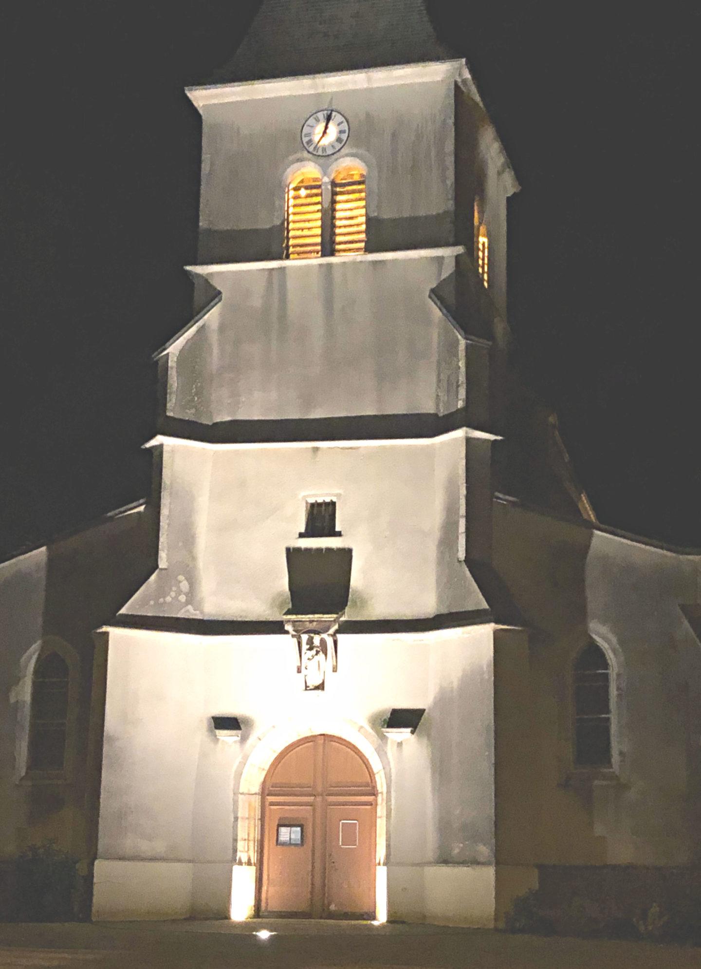 Churches in the Burgundian region