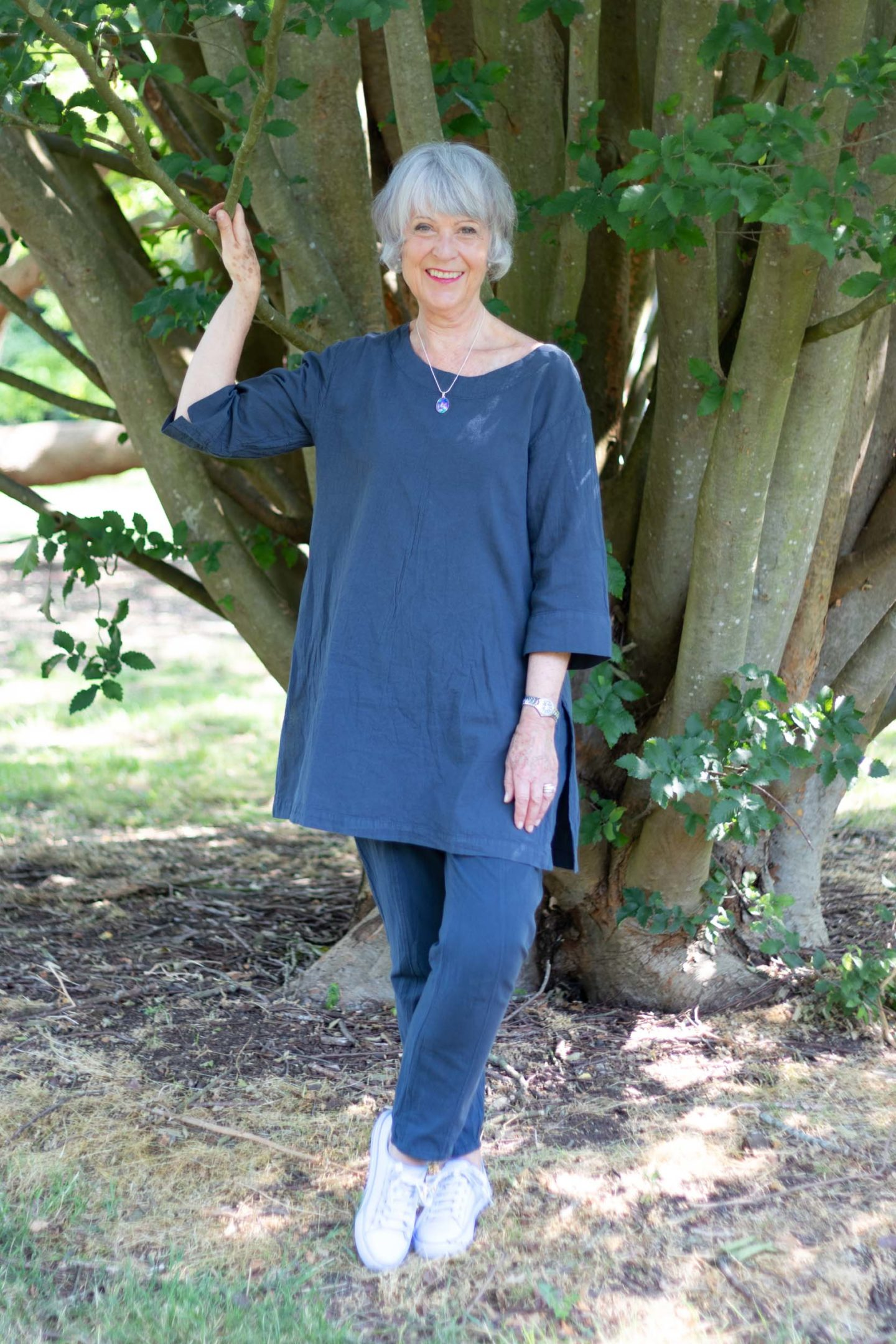 cotton tunic and trousers