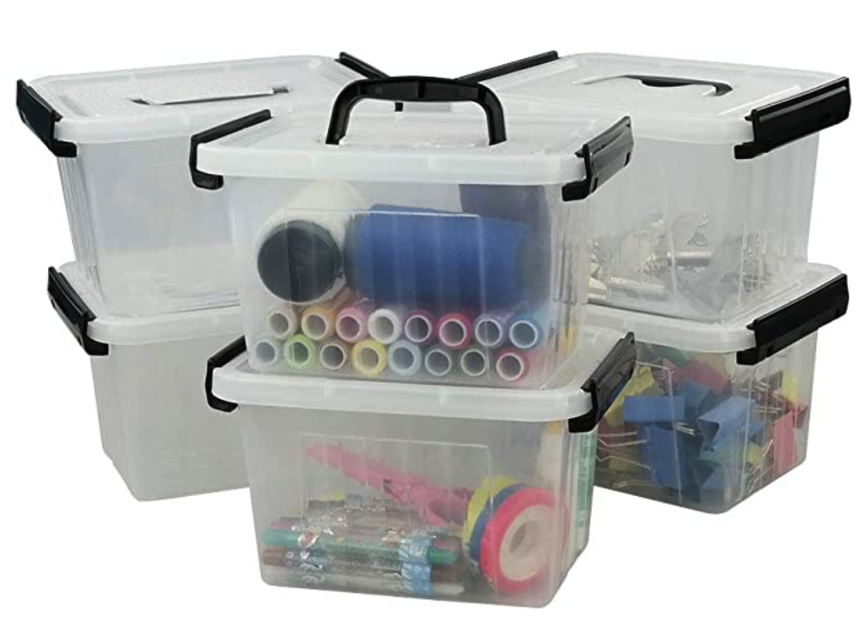 Mini storage boxes