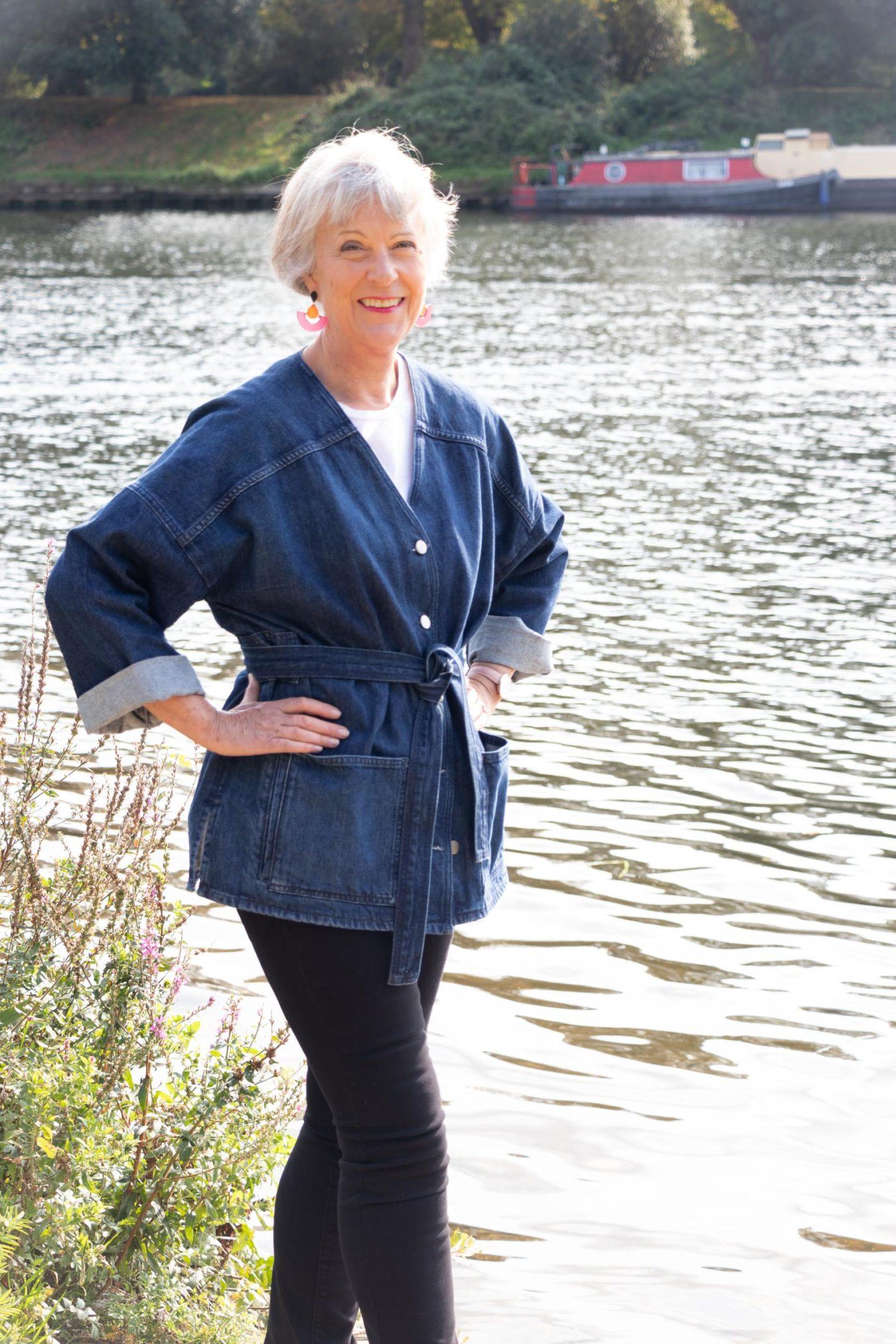 Denim jacket for women over 50