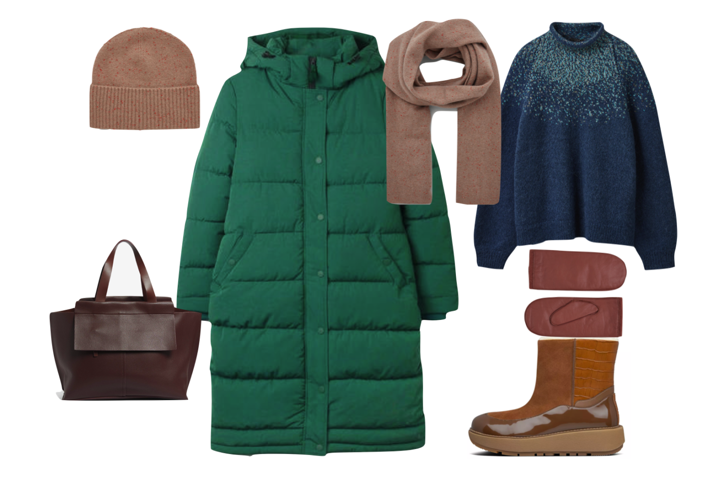 How to stay warm this winter with a puffa coat.