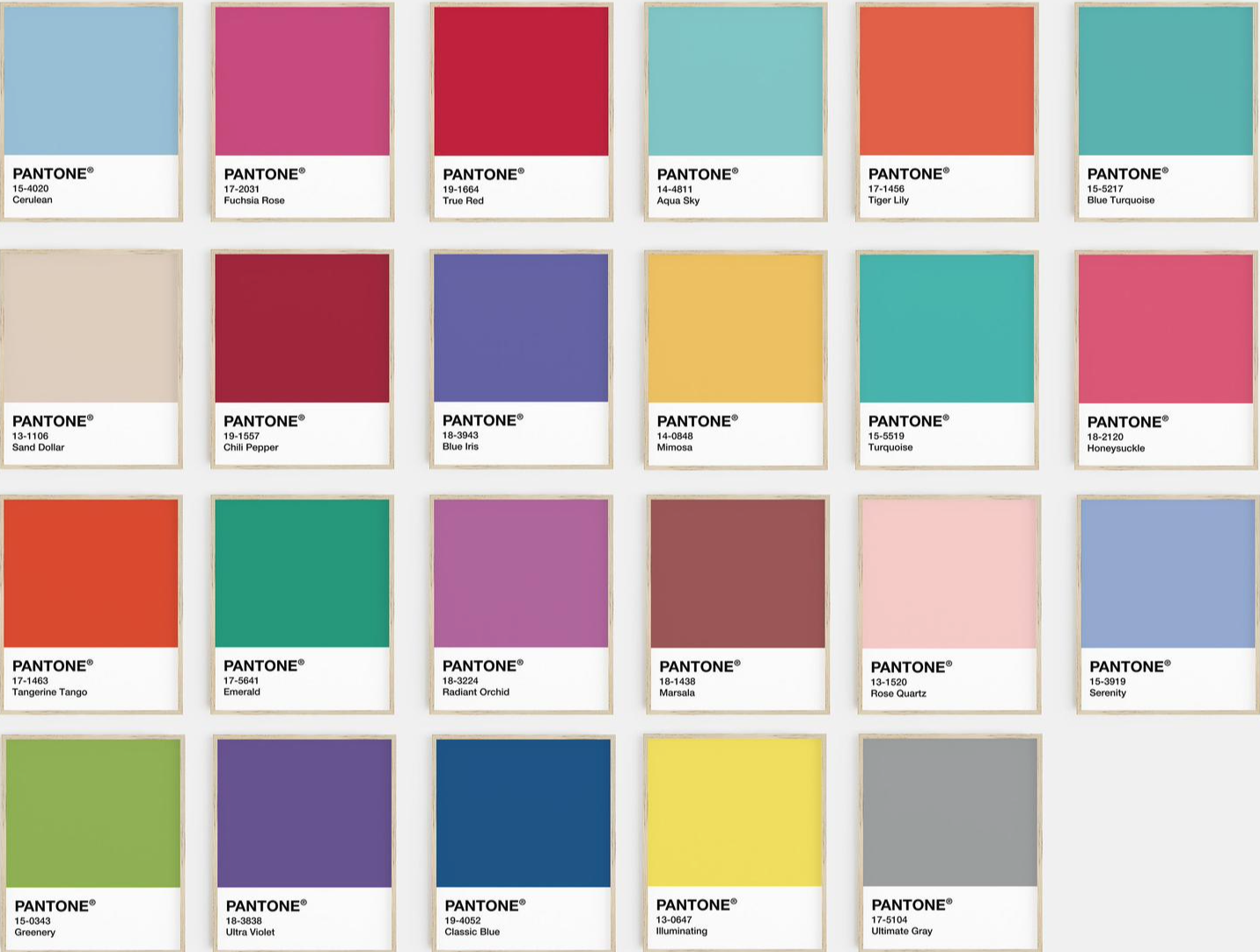 Spring 2021 fashion colours