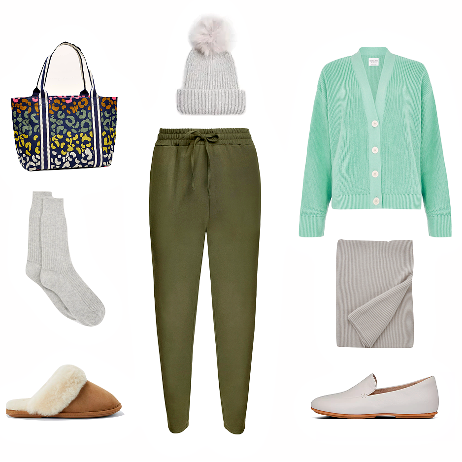 How to dress comfortably and still look chic.