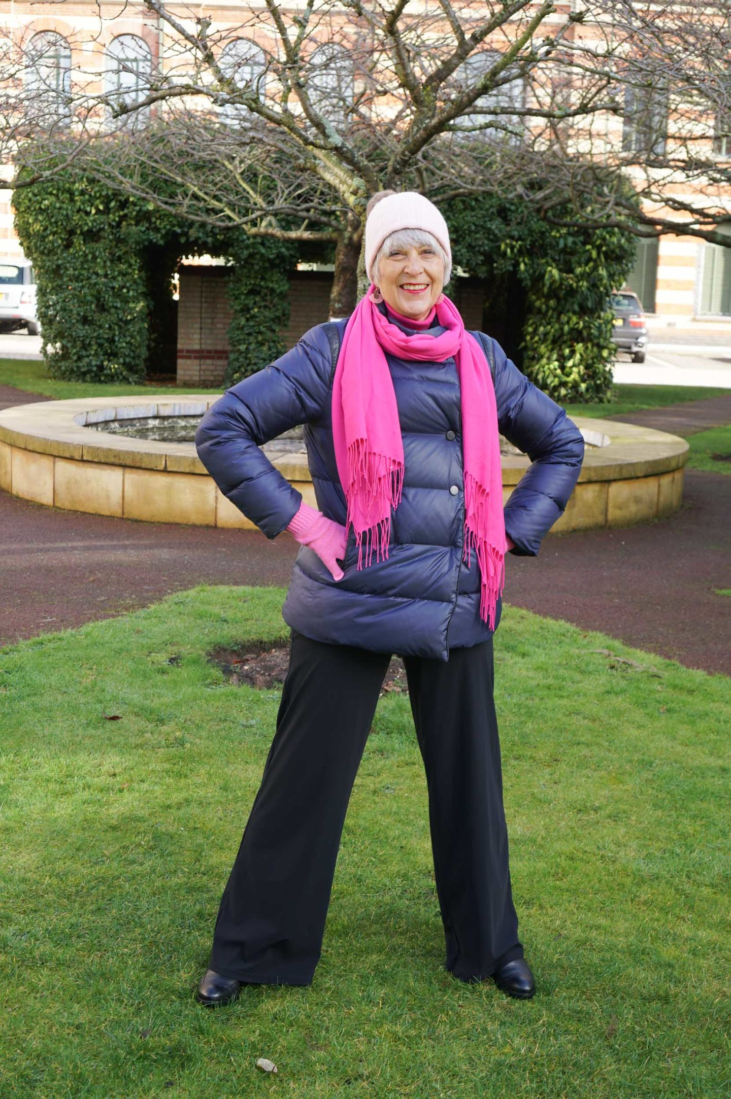 How to create a practical outfit for the winter