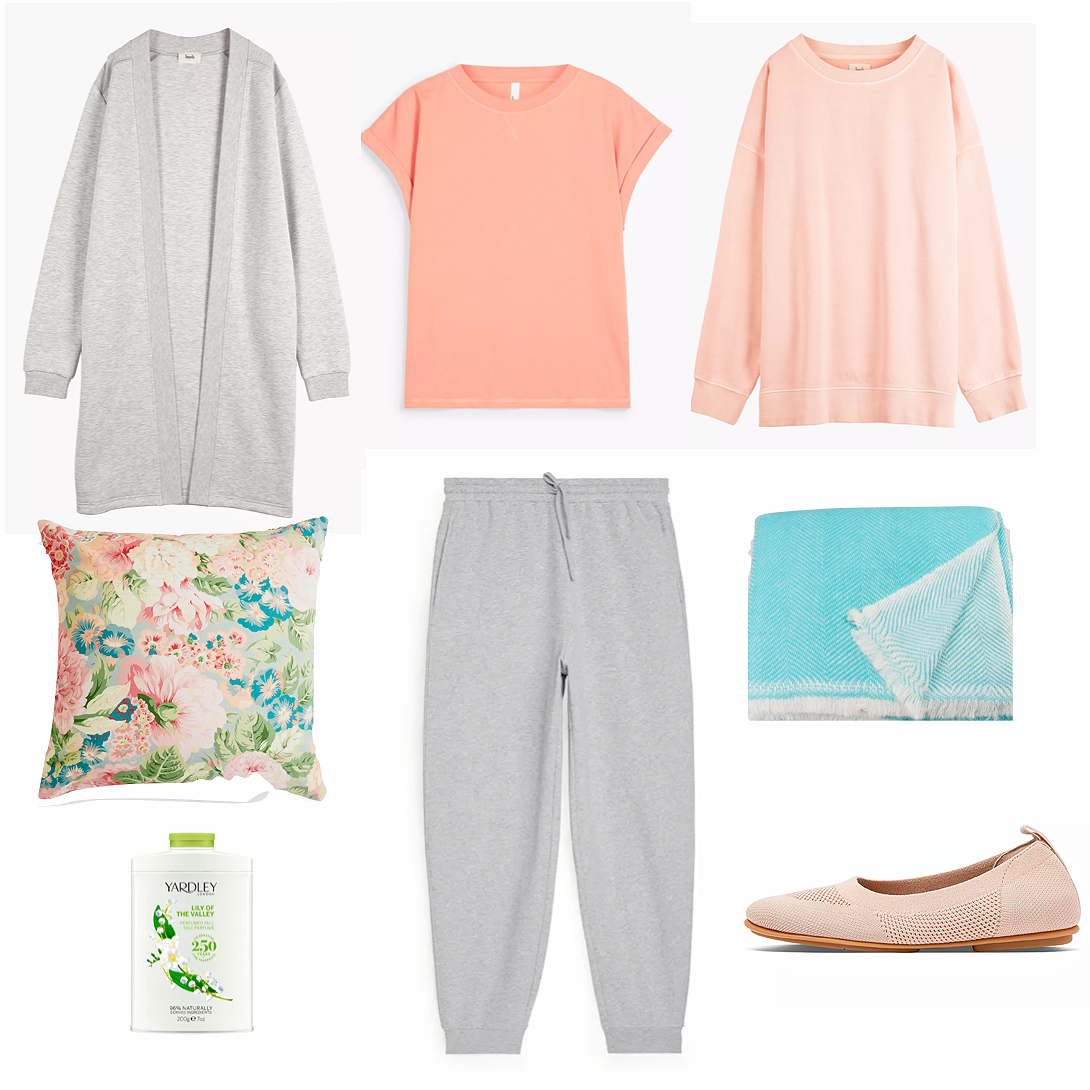 Clothes to stay warm and cosy as you curl up on your sofa.