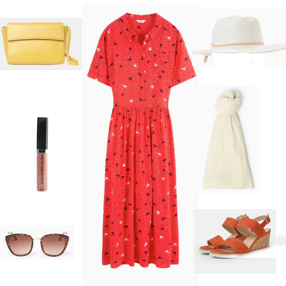 How to choose a simple summer dress