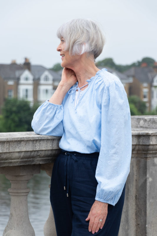 How a feminine blouse can give your wardrobe a lift.