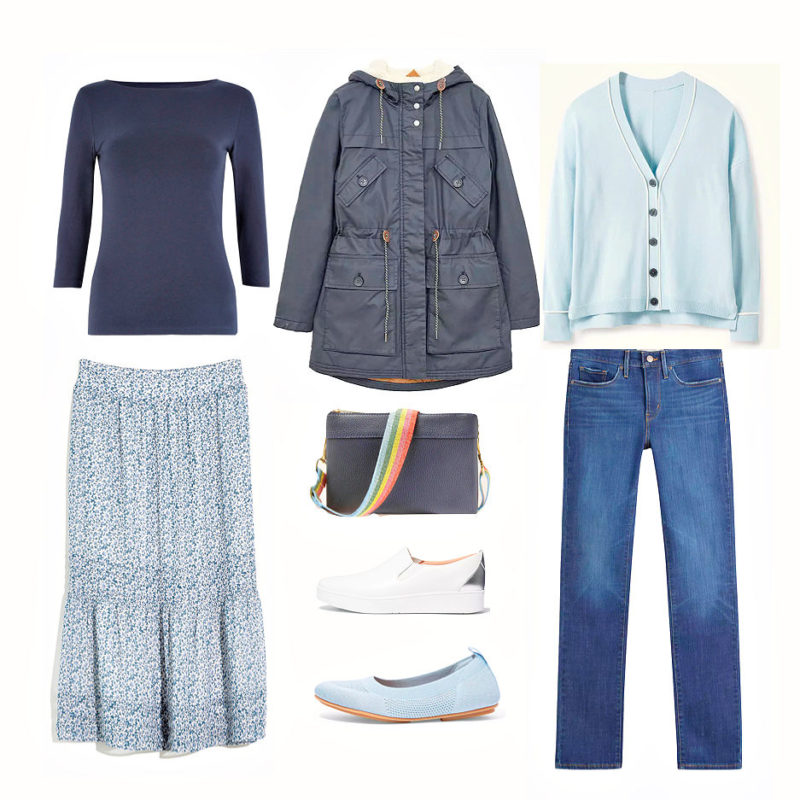 How to style a humble cardigan