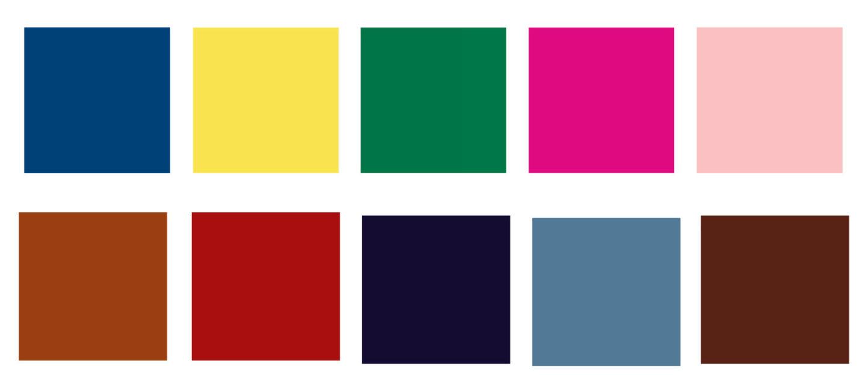 Pantone colours for Autumn/Winter 2021