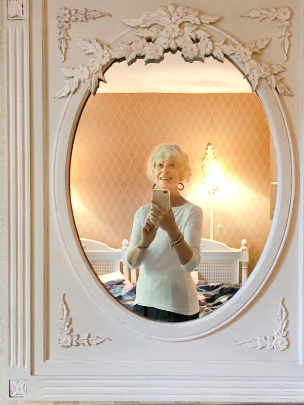 Traditional french mirror