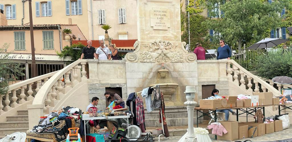Brocantes in the South of France
