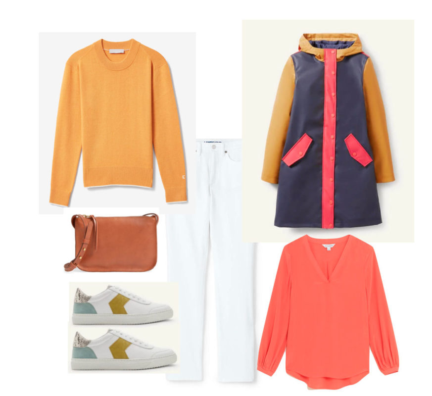 Colours I have seen French women wearing