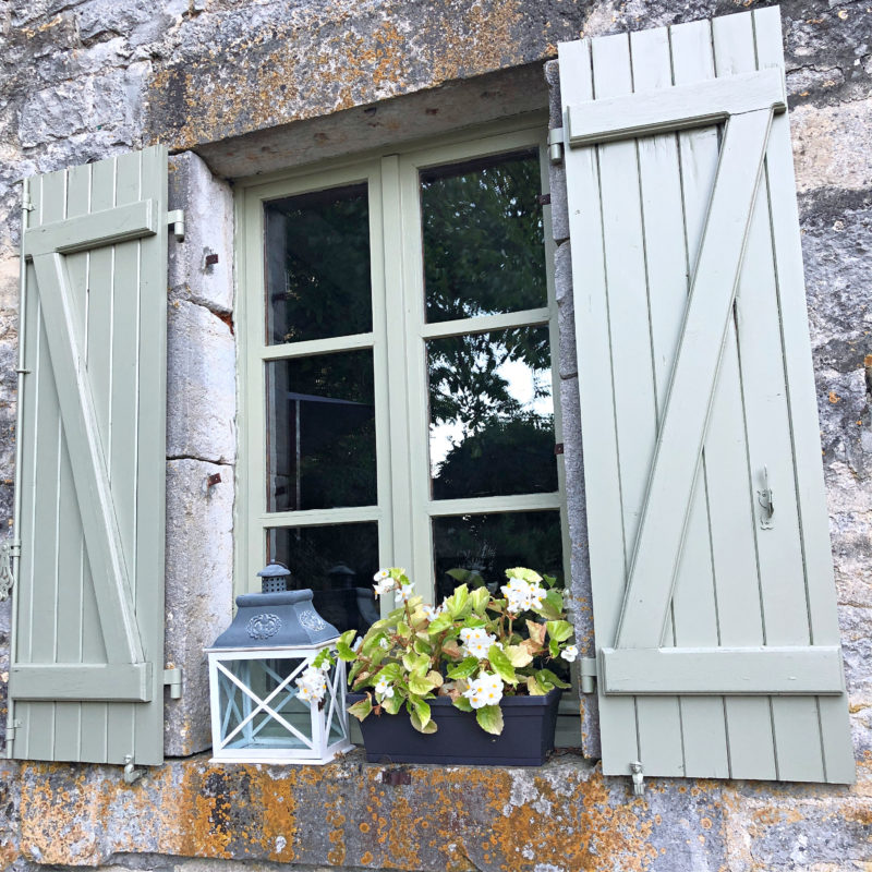Classic french shutters