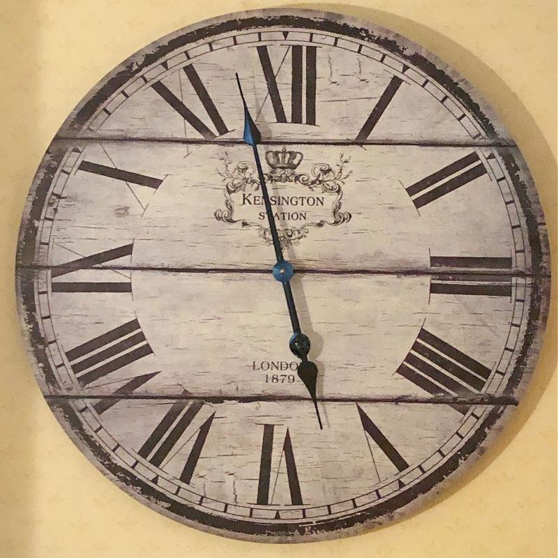 Antique clock 1879
